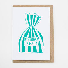 Birthday Treats Card