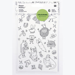 Colouring Activity Stickers