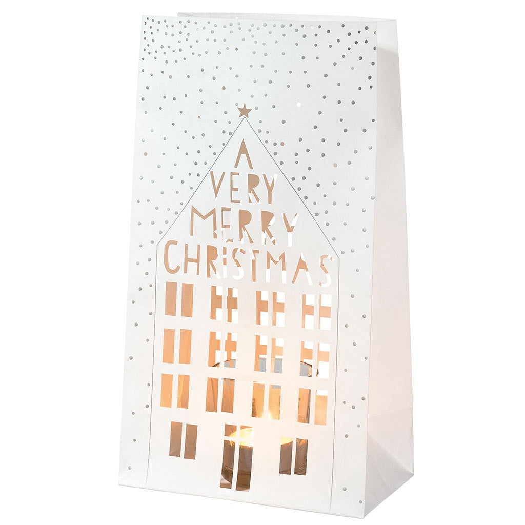 A Very Merry Christmas Light Bag Set of 2