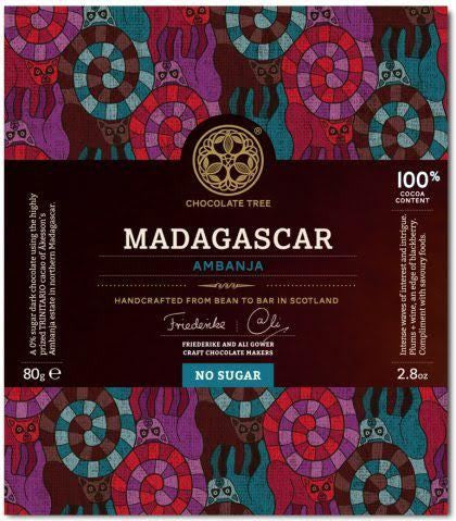 Bean to Bar Chocolate Madagascar Ambanja 100%