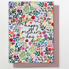 All Over Floral Mother's Day Card