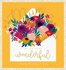 Simply Wonderful Mothers Day Card