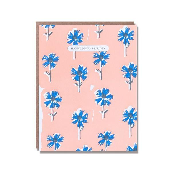 Mother's Day Wall Flowers Card