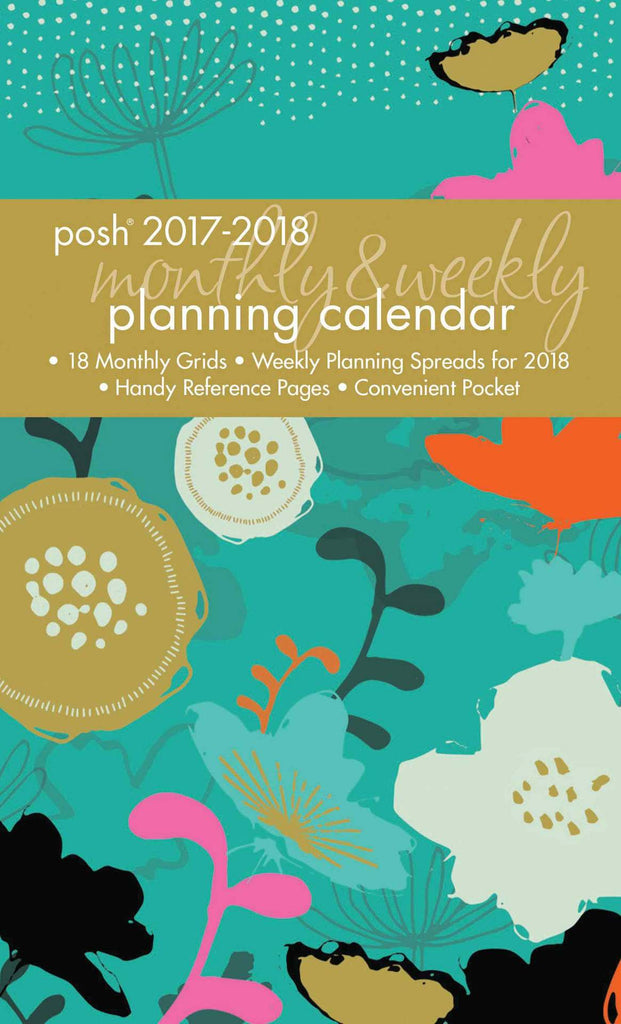 2017/2018 Posh Neon Meadow Diary