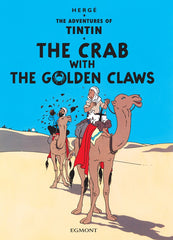 The Crab with the Golden Claws Tintin Postcard