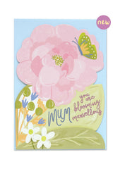 Mum You're Blooming Marvellous Card