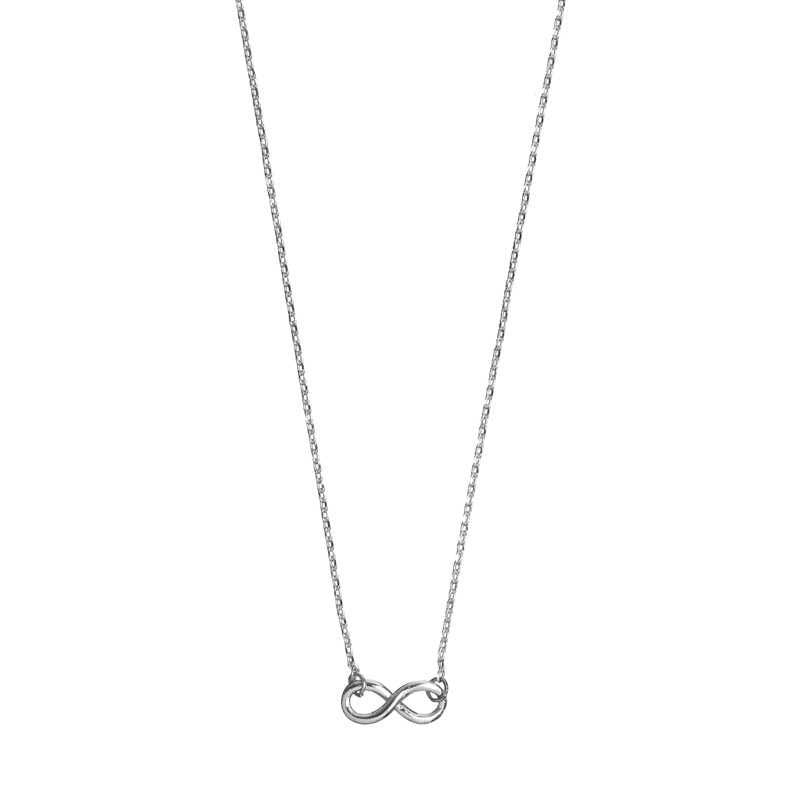 New Infinity Necklace Silver