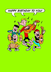 Happy Birthday To You Beano Card