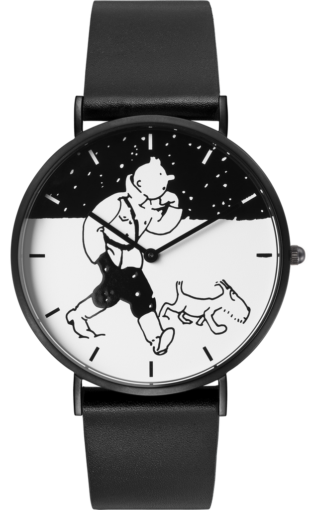 Tintin Watch - Land of the Soviets - City Snow - Medium