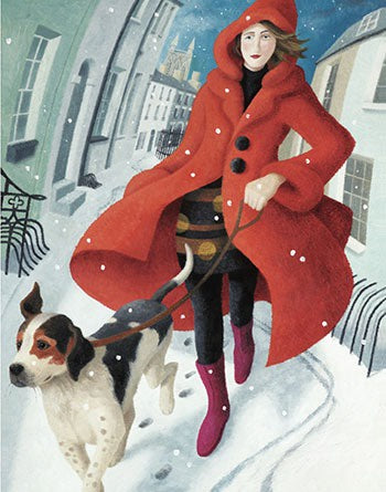 Lady of the Snows Pack of 5 Christmas Cards