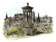 Moleskine Sketching Workshop with Edinburgh Sketcher 'Introduction to Watercolour' - 15th September 2.30pm
