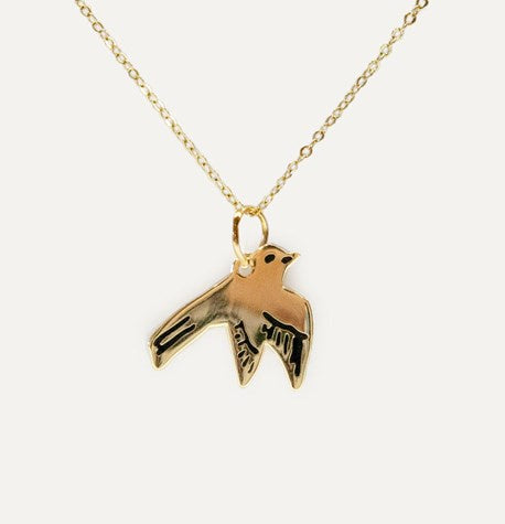Swallow Necklace by Katy Welsh