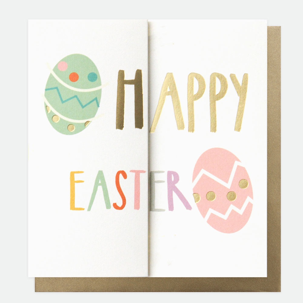 Happy Easter Fold Out Card