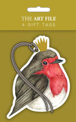 Robins Pack of 4 Gift Tags