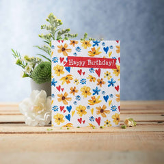 Happy Birthday Seed Card