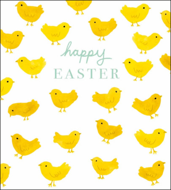 Happy Easter Chicks Pack of 5 Cards
