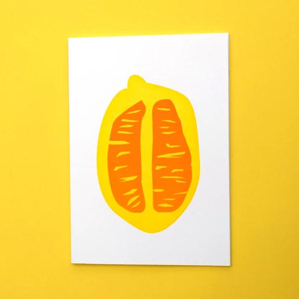 Lemon Section Card