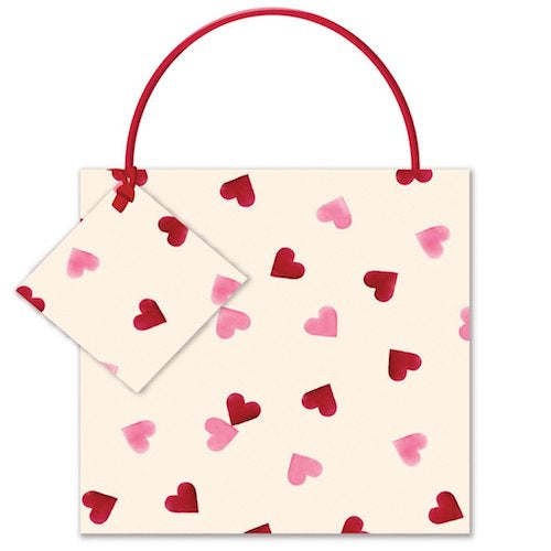Emma Bridgewater Hearts Small Gift Bag