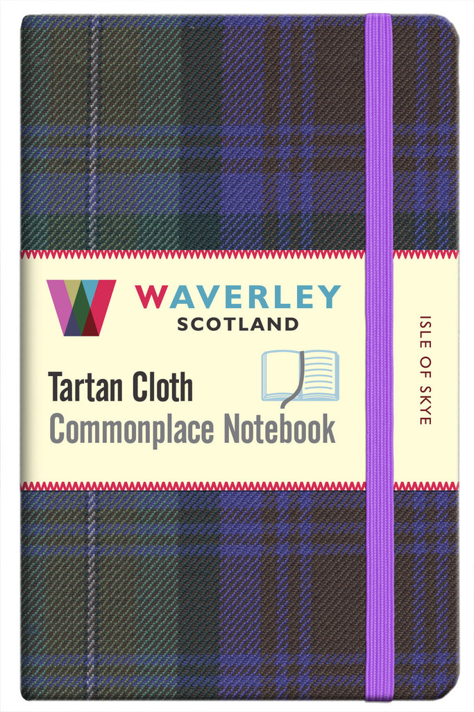 Tartan Cloth Notebook- Isle of Skye