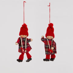 Retro Doll Hanging Decoration