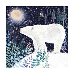 Polar Bear Christmas Fayre Pack of 8 Cards