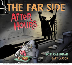 Far Side After Hours 2021 Wall Calendar