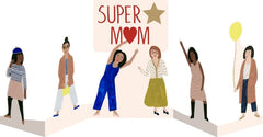 Super Mum Fold-Out Card