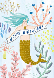 Happy Birthday Pretty Mermaid
