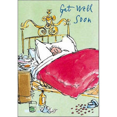 Get Well Soon Quentin Blake Card