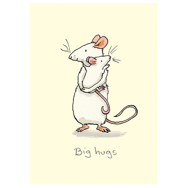 Big Hugs Mice Card