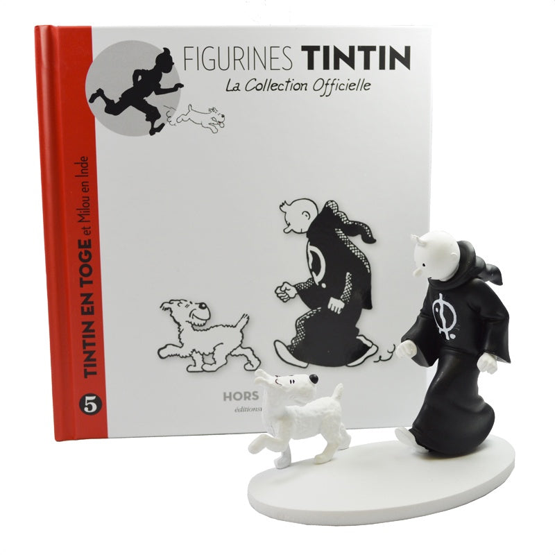 Monochrome Tintin in a Toga from Cigars of the Pharaoh