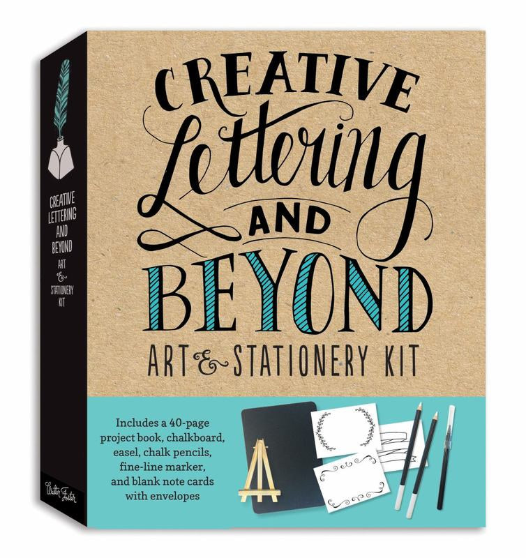 Creative Lettering and Beyond: Art and Stationary Kit
