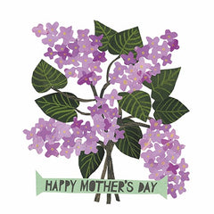 Mother's Day Lilacs Card