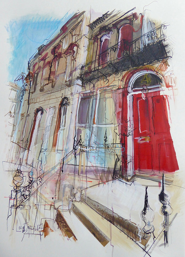 Red Door Edinburgh Card