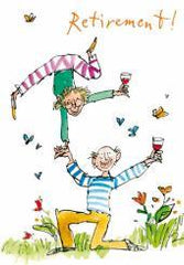 Retirement Quentin Blake Card