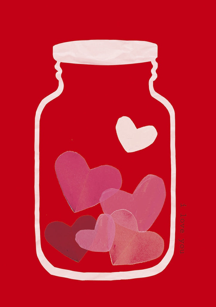 Jar of Hearts Card