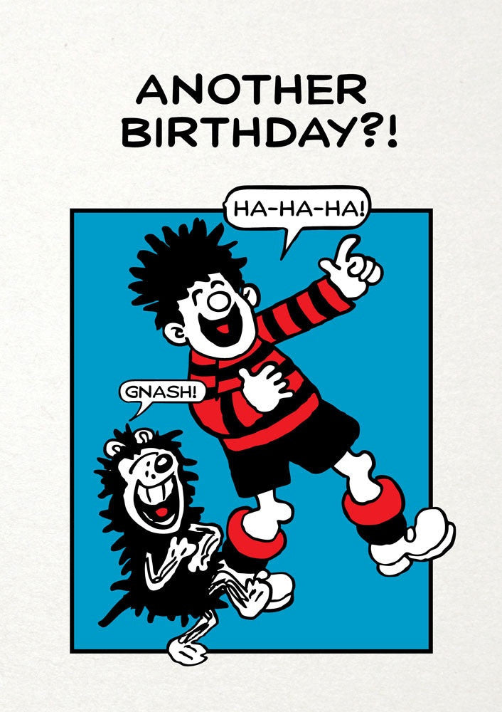 Another Birthday Dennis The Menace Card