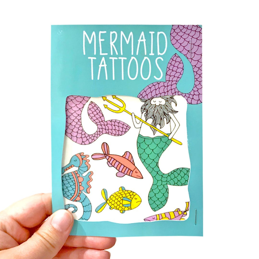Mermaid Transfer Tattoos