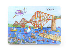 The Forth Rail Bridge Gingerpaws Placemat