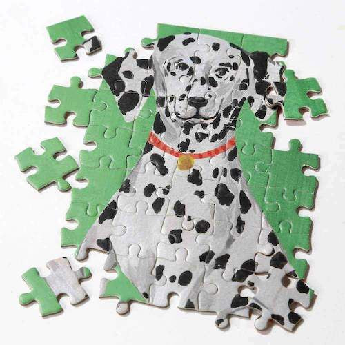Double Sided Dalmatian Puzzle