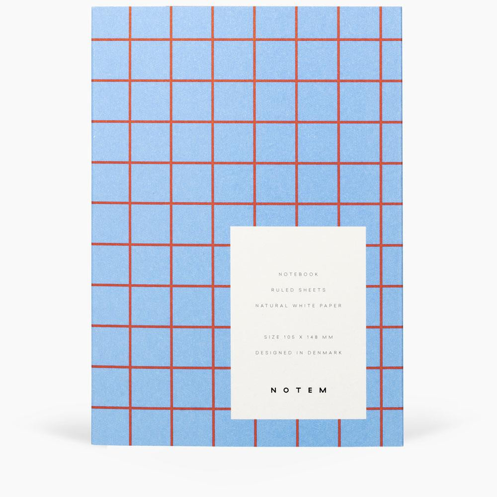 Uma Small Flatlay Notebook Light Blue