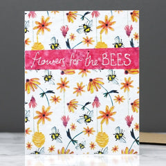 Flowers For The Bees Seed Card