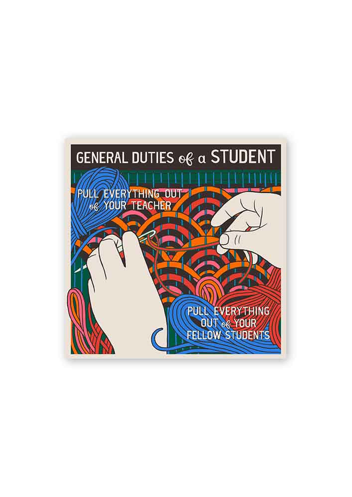 General Duties of a Student Card