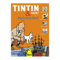 Tintin and Snowy Big Activity Book