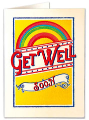 Get Well Rainbow Card