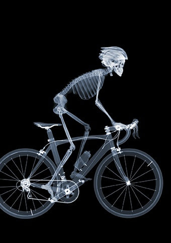 Pedal Power Skeleton Card