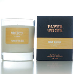 Paper Tiger Old Town Lime, Bail & Orange Large Candle