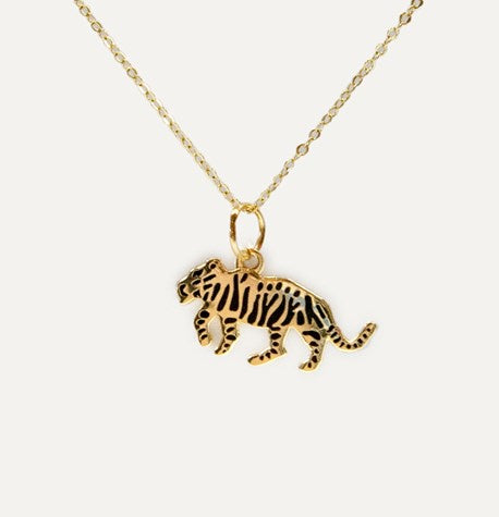Tiger Necklace by Katy Welsh