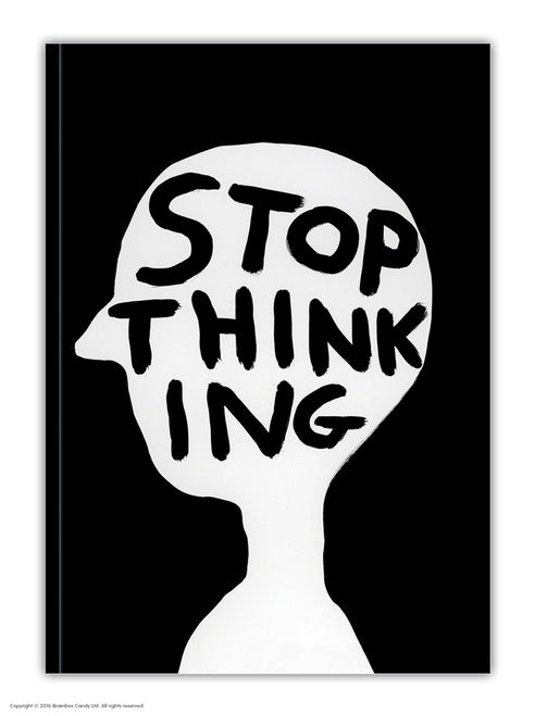 Stop Thinking Notebook