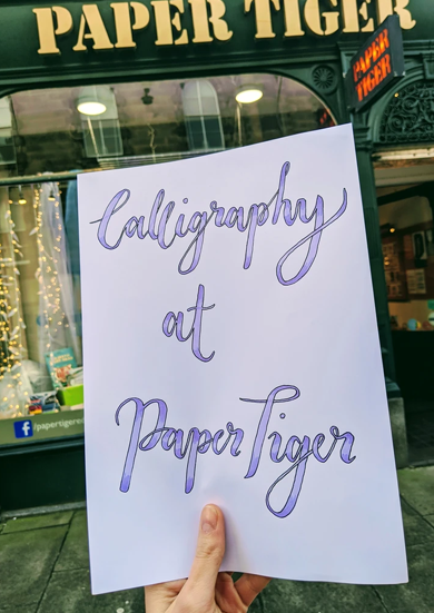 Introduction to Modern Calligraphy - 18th April 2.30pm